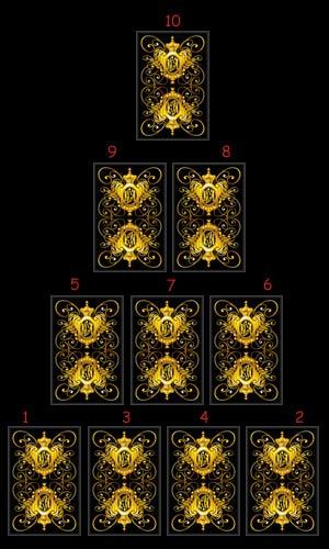 Расклад Пирамида